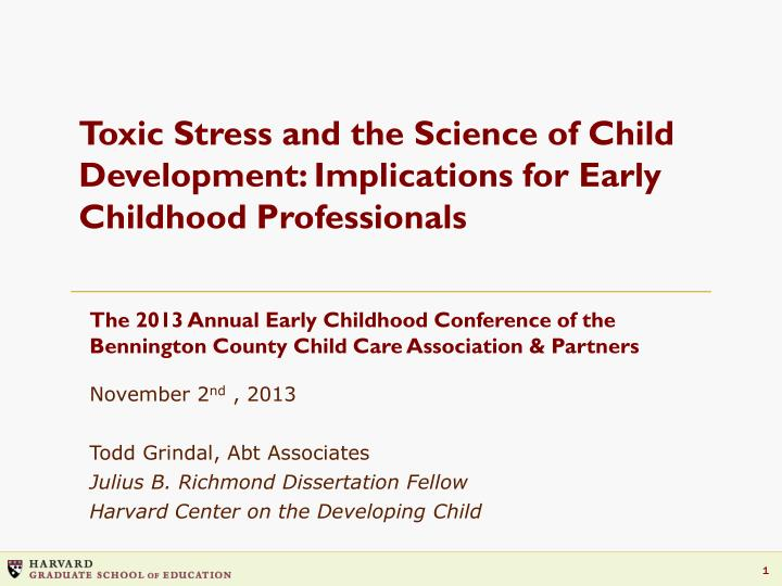 dissertations on early childhood development The purpose of this systematic grounded theory study was to gain insight through the experiences of early childhood educators and their perceptions as they implemented action research as a professional development method.
