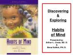 discovering exploring habits of mind
