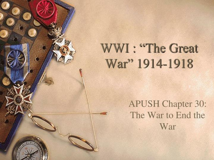 wwi the great war 1914 1918 n.