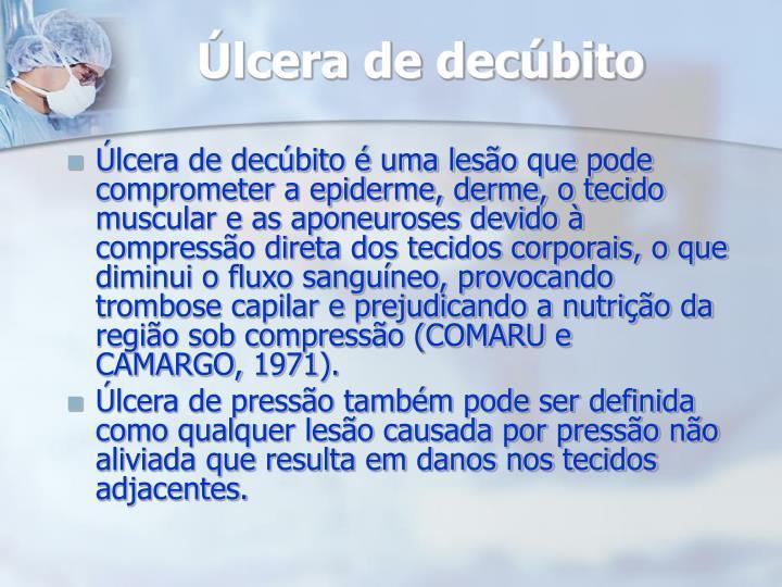 Úlcera de decúbito