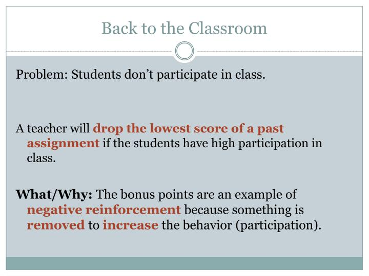 PPT - Reinforcement, Punishment, Avoidance Learning, and Escape ...