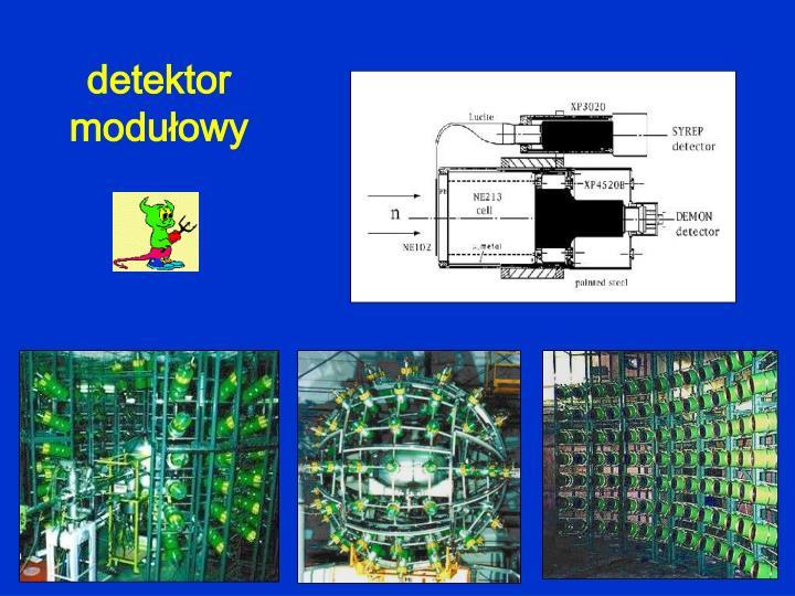 detektor modułowy