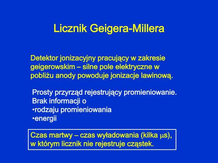 Licznik Geigera-Millera