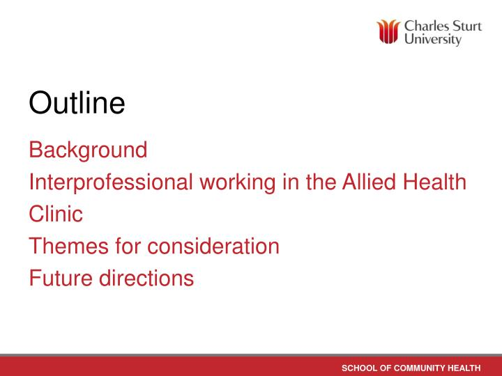 interprofessional working Judith thomas, katherine pollard, derek sellman there will always be a need for professionals to work collaboratively if they are to provide the highest standard of care.