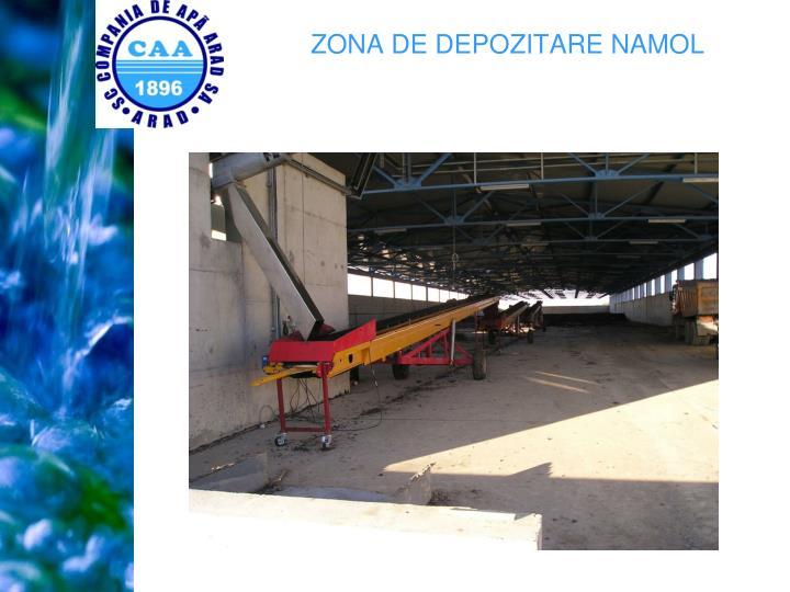 ZONA DE DEPOZITARE NAMOL