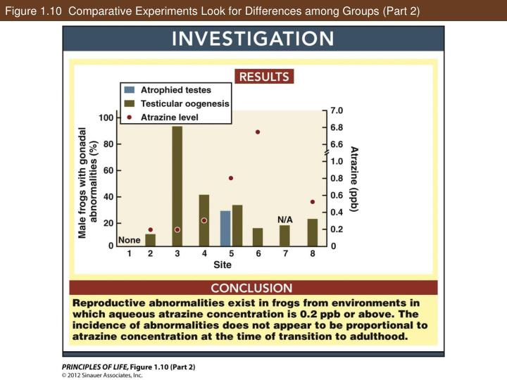 Figure 1.10  Comparative Experiments Look for Differences among Groups (Part 2)