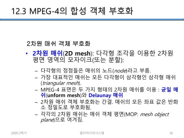 12.3 MPEG-4