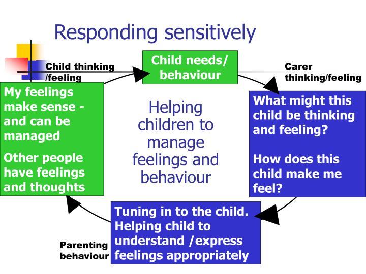 Responding sensitively