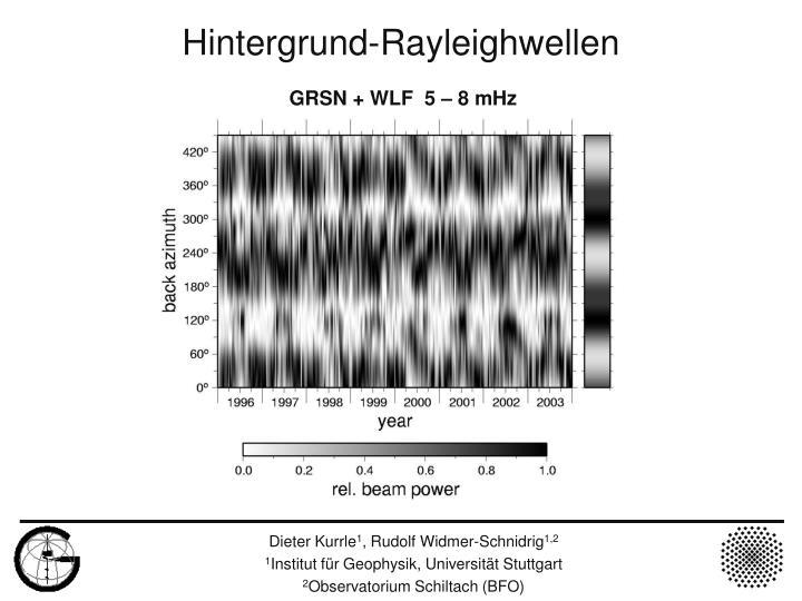 GRSN + WLF  5 – 8 mHz