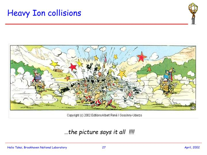 Heavy Ion collisions