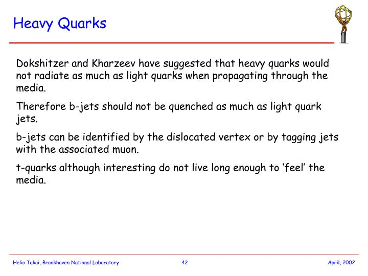 Heavy Quarks