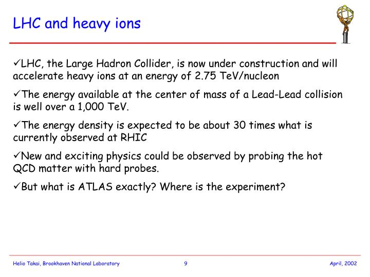 LHC and heavy ions