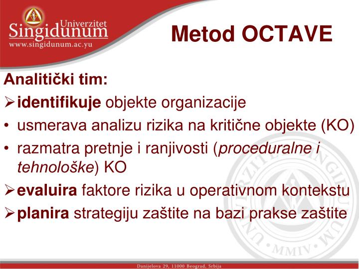 Metod OCTAVE