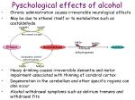 pyschological effects of alcohol1