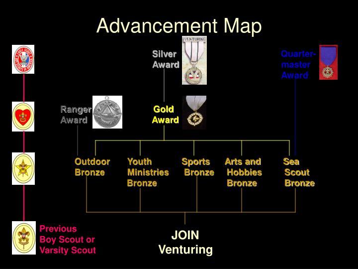 Advancement Map