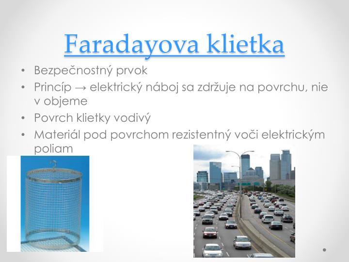 Faradayova klietka