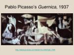 pablo picasso s guernica 19371