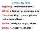 genre fairy tales