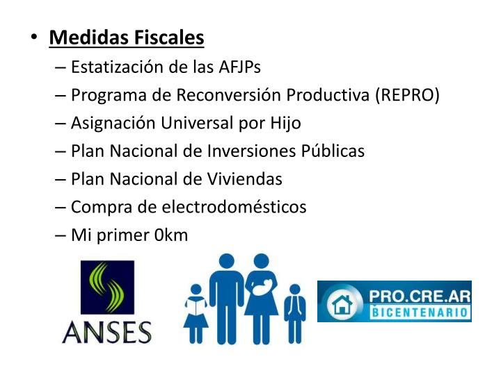 Medidas Fiscales