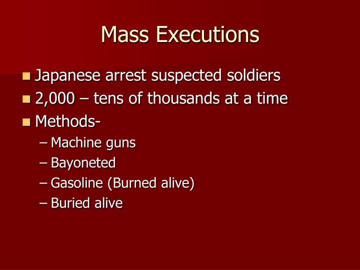 Mass Executions