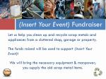 insert your event fundraiser