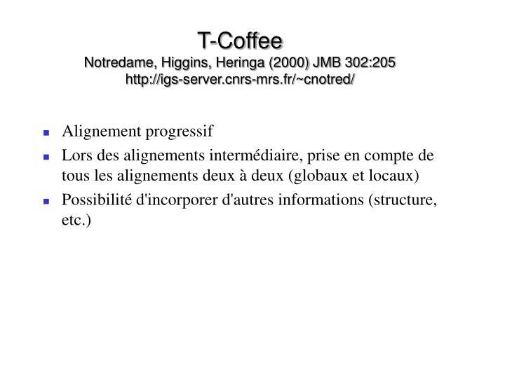 T-Coffee