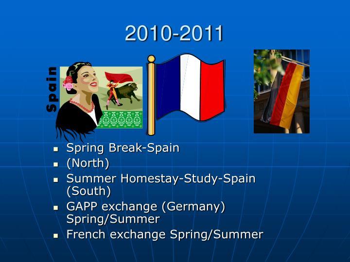 Spring Break-Spain