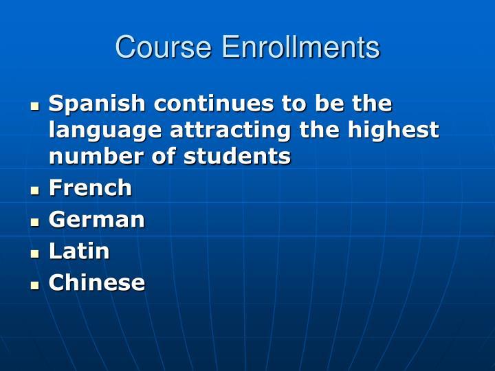 Course Enrollments