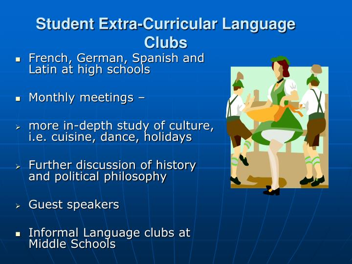 Student Extra-Curricular Language Clubs