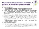 riconoscimento del contratto autonomo di garanzia da parte della giurisprudenza