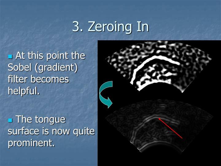 3. Zeroing In