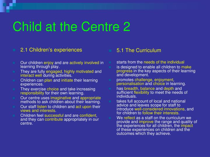 Child at the Centre 2