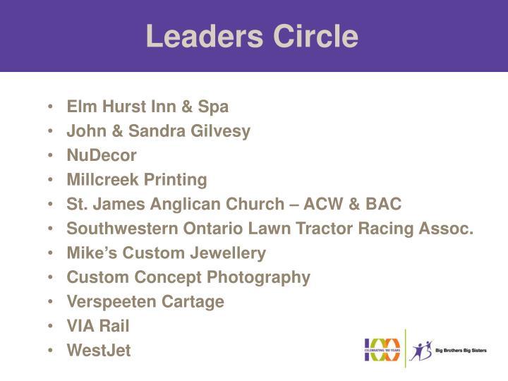 Leaders Circle