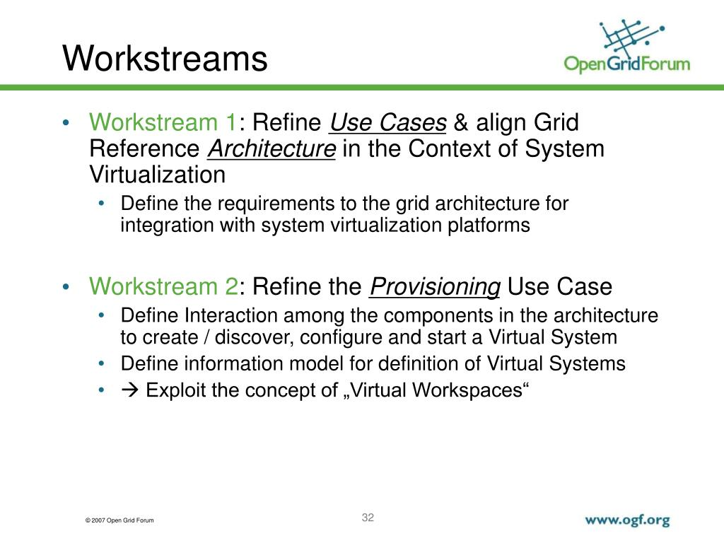 PPT - Grid & Virtualization Working Group PowerPoint