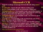 microsoft ccr