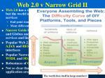 web 2 0 v narrow grid ii