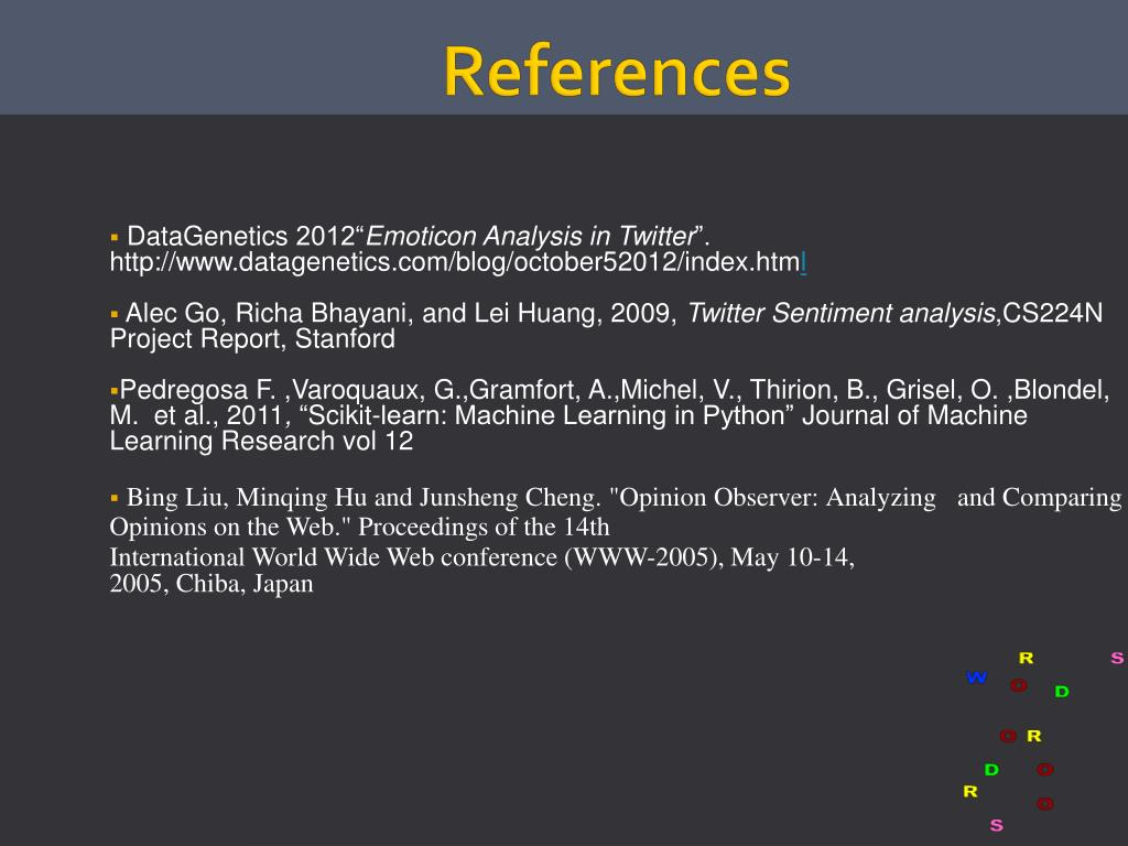 PPT - Sentiment analysis of microblogging data using