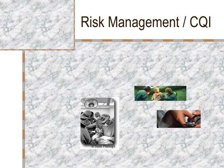 Risk management cqi1