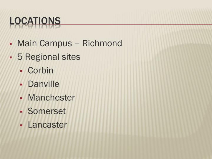 Main Campus – Richmond