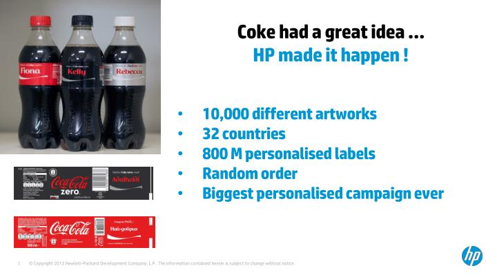Coke had a great idea …