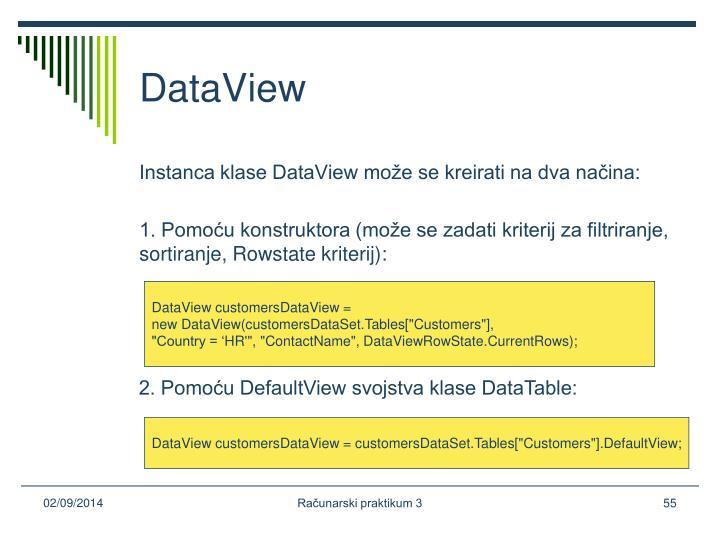 DataView