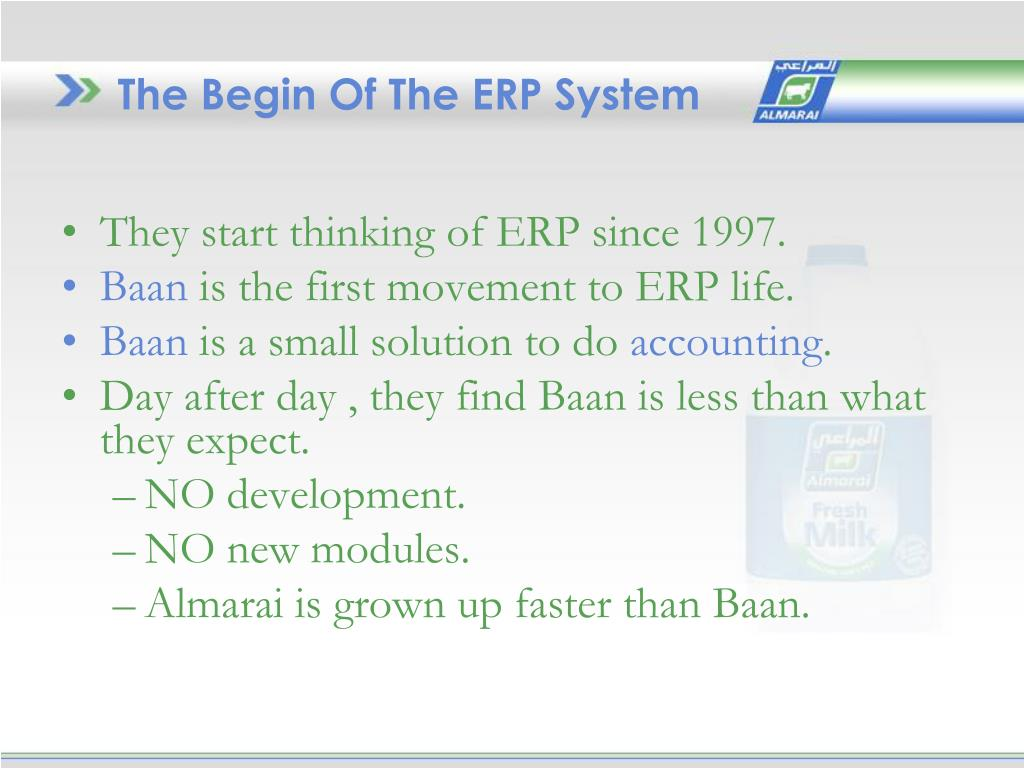 PPT - ERP SYSTEM IS 452 PowerPoint Presentation - ID:3819414