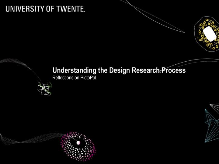 understanding the design research process n.
