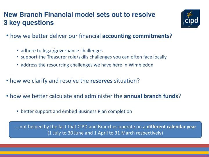 how we better deliver our financial