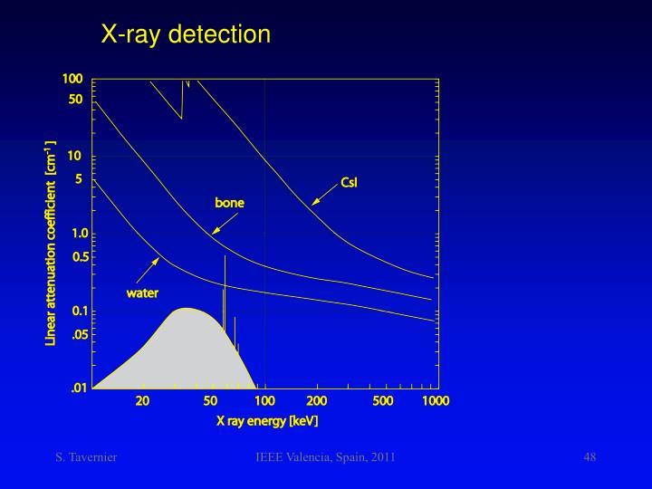 X-ray detection