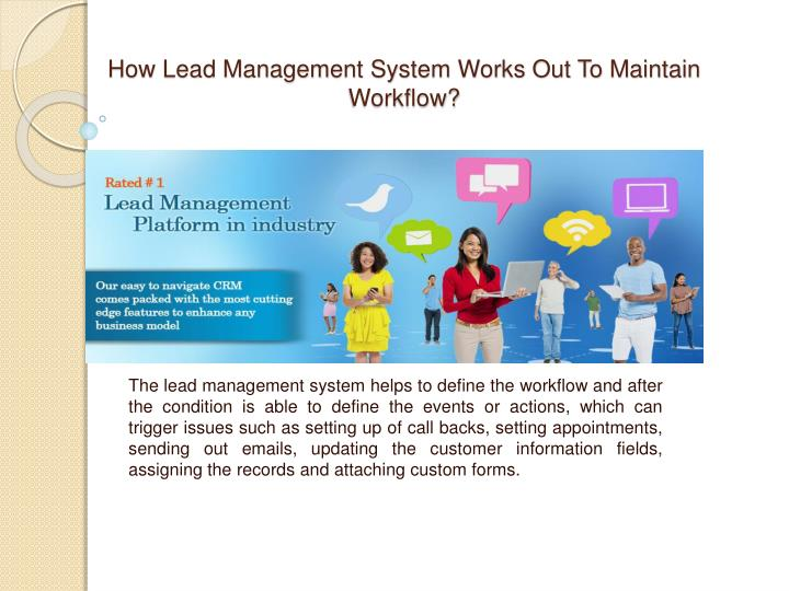 How lead management system works out to maintain workflow