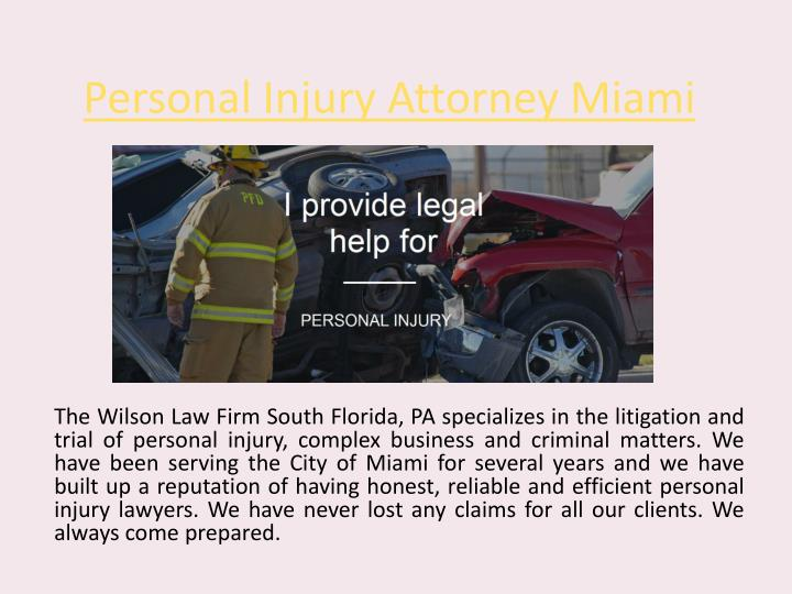 personal injury attorney miami n.