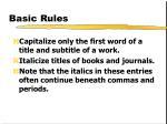 basic rules3