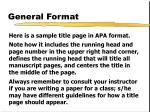 general format3