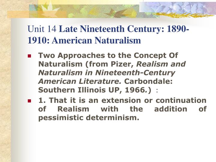 essays on determinism in american literature Environmental determinism occupies one end of a continuum, cultural determinism occupies the other each argues that the human condition is determined simply by nature or simply by culture between these two extreme positions lies a broad spectrum of positions described variously as environmental possibilism or environmental probablism.